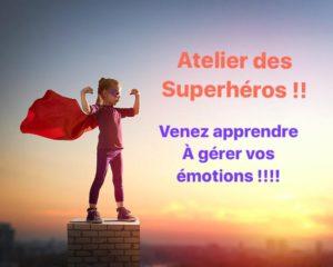 Read more about the article L'atelier des Superhéros