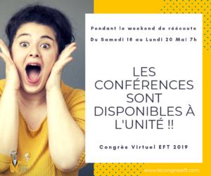 Read more about the article 48h de REECOUTE du CONGRES EFT 2019